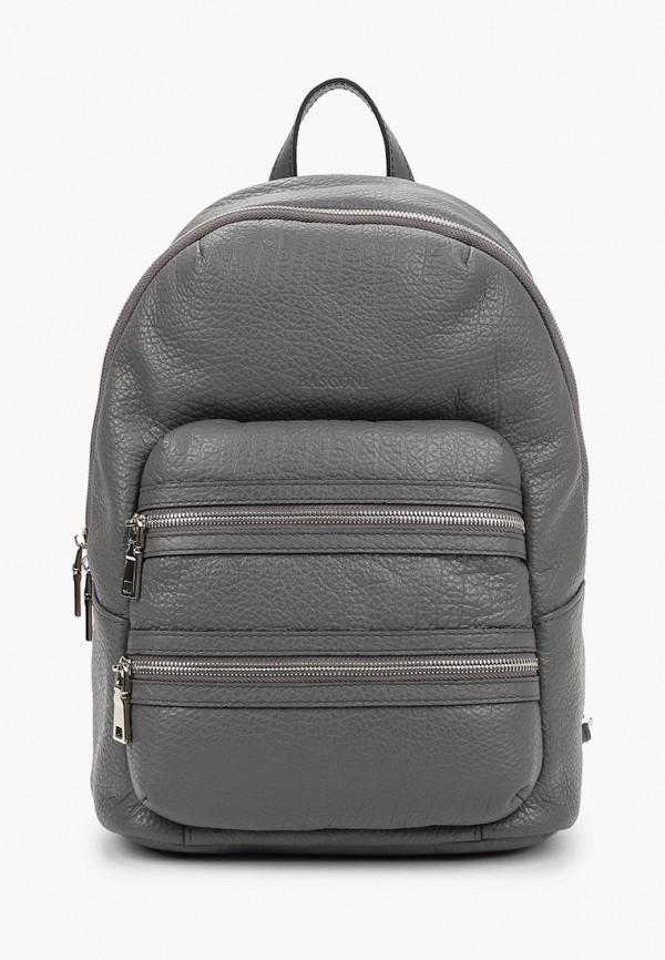 женский рюкзак basconi, серый