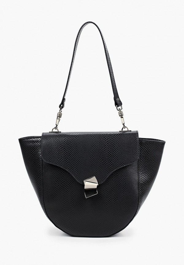 женская сумка с ручками basconi, черная