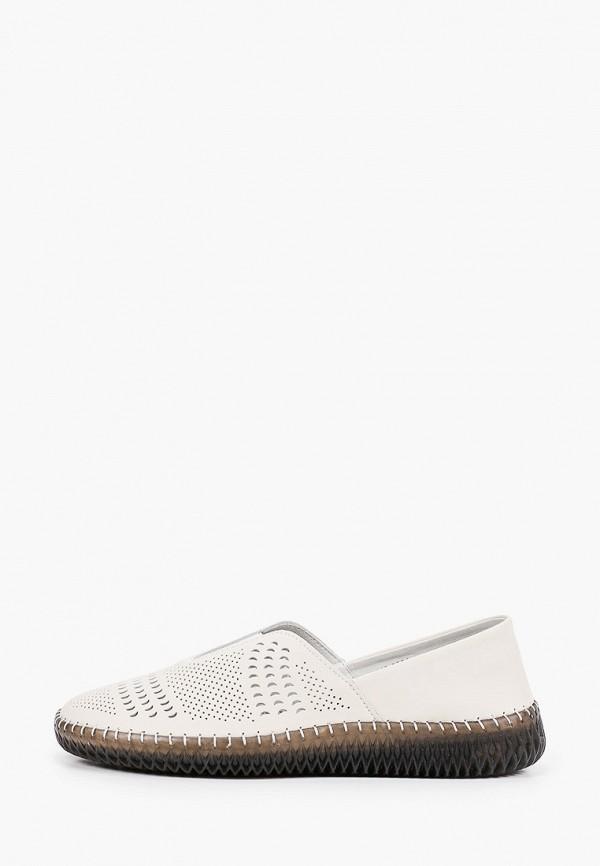 женские низкие слипоны munz-shoes, бежевые