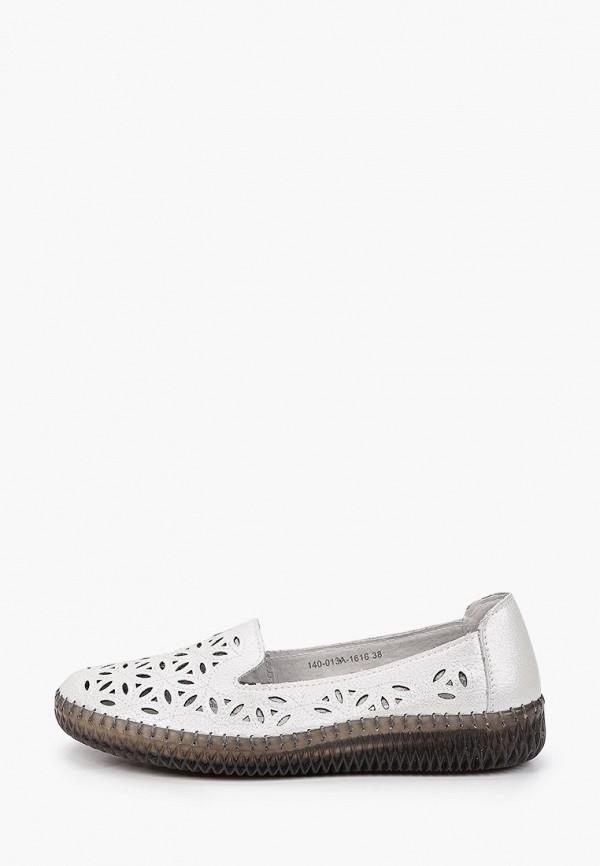 женские низкие слипоны munz-shoes, белые