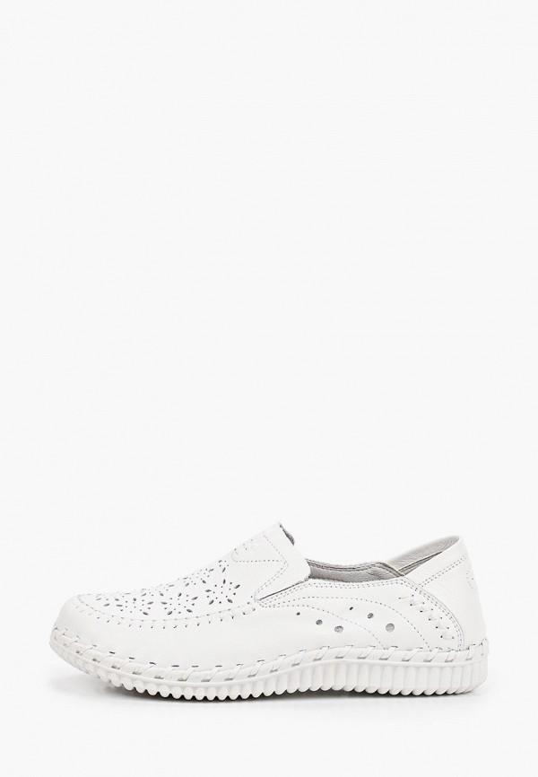 женские мокасины munz-shoes, белые