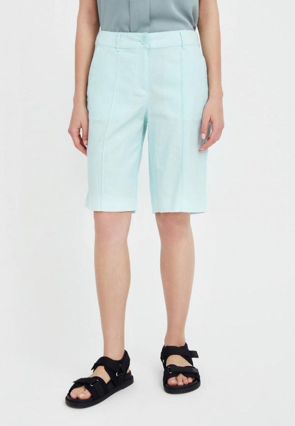 женские повседневные шорты finn flare, бирюзовые