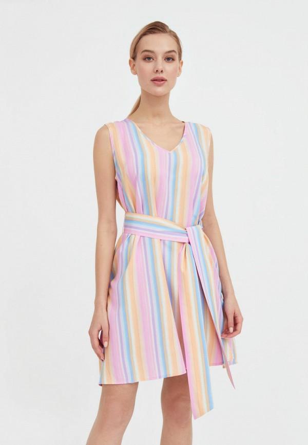 женское повседневные платье finn flare, разноцветное