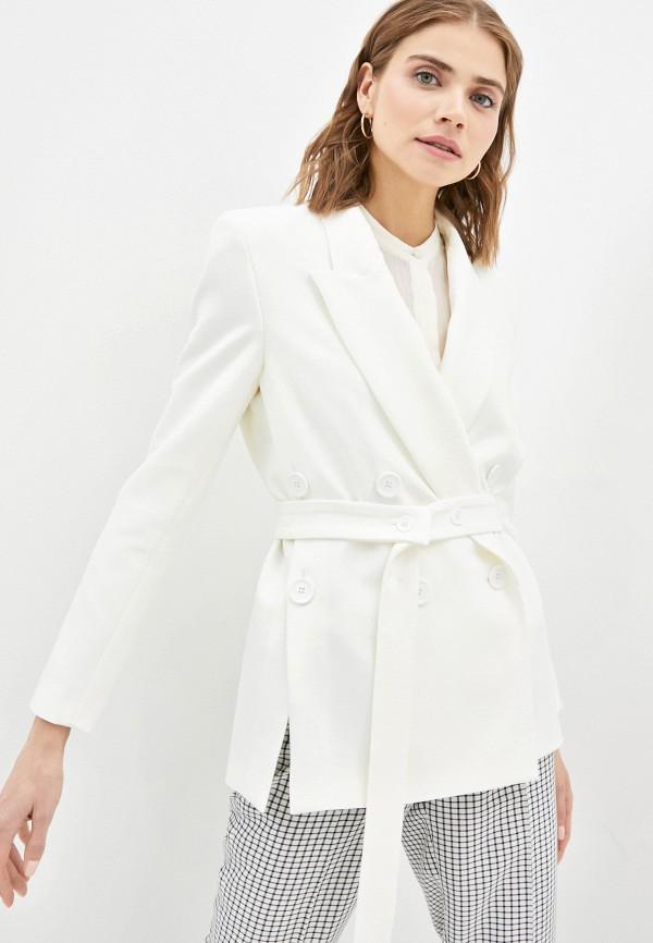 женский пиджак vika ra, белый