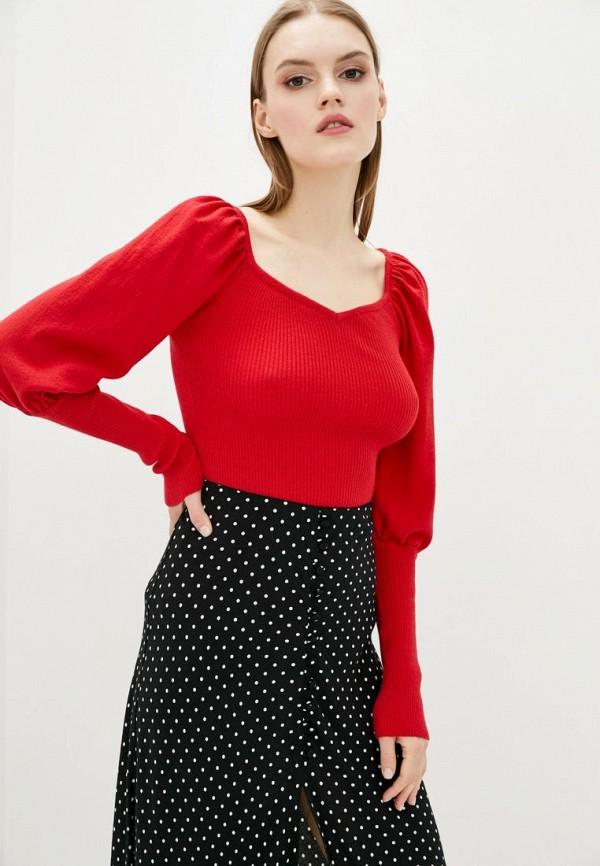 женский пуловер sewel, красный