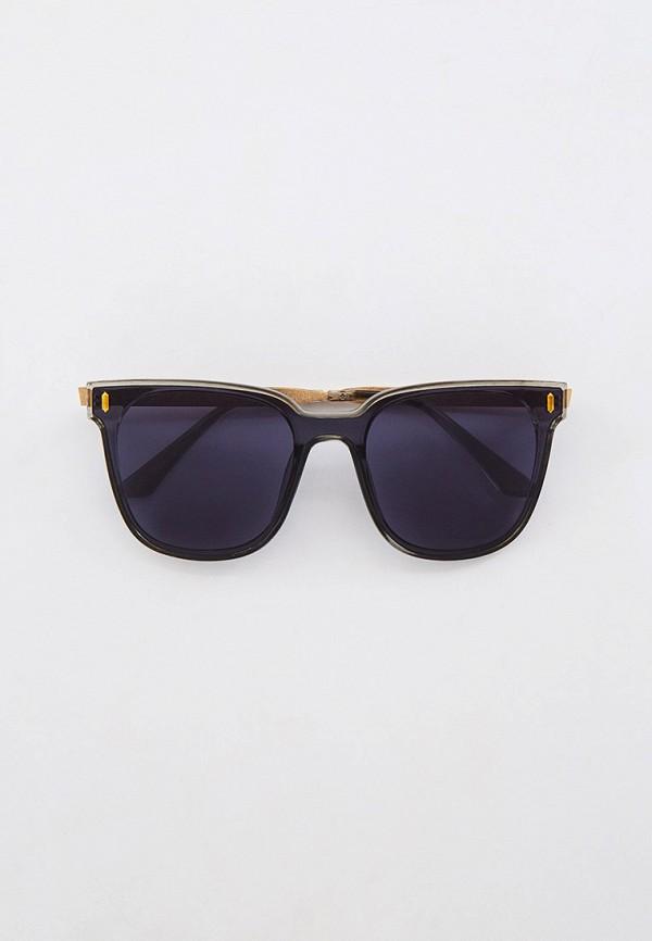 женские квадратные солнцезащитные очки mon mua, серые