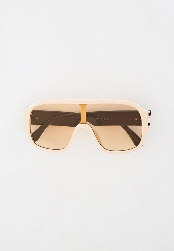женские солнцезащитные очки mon mua, бежевые