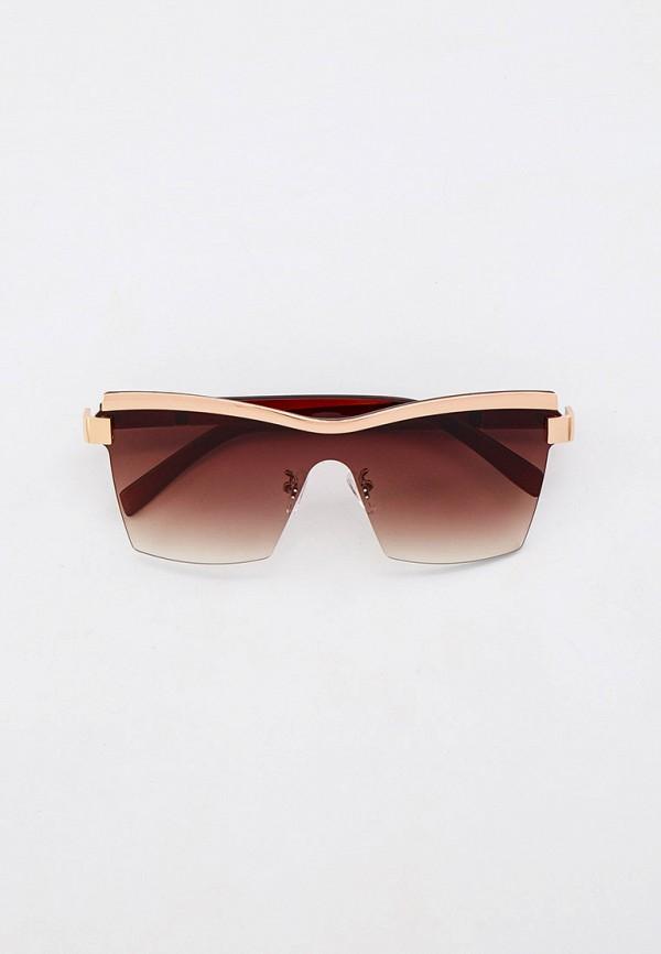женские авиаторы солнцезащитные очки mon mua, бежевые