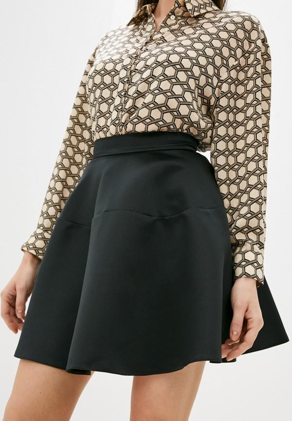 женская юбка-трапеции fashion.love.story, черная