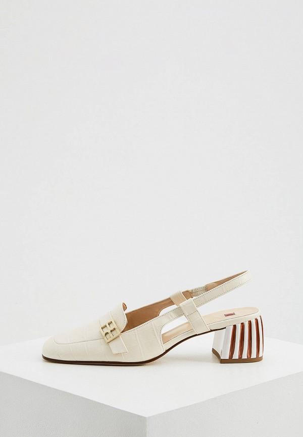 женские туфли hogl, белые