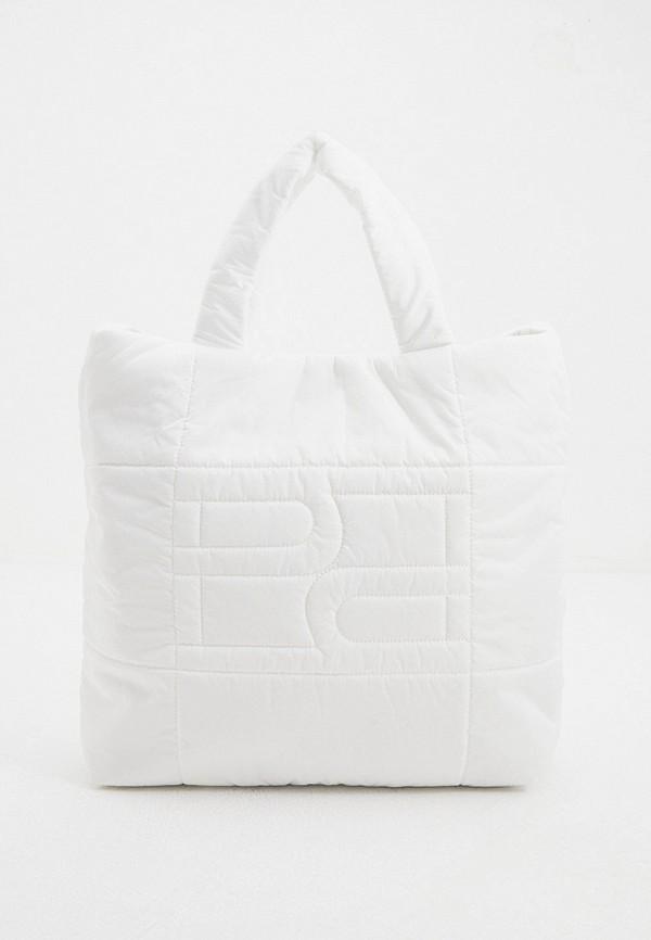 женская сумка-шоперы hogl, белая
