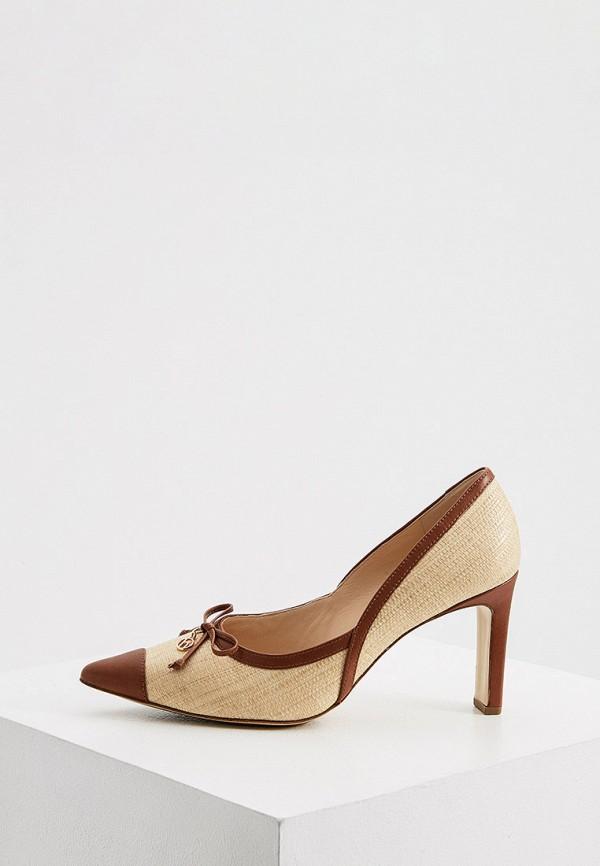 женские туфли-лодочки hogl, бежевые