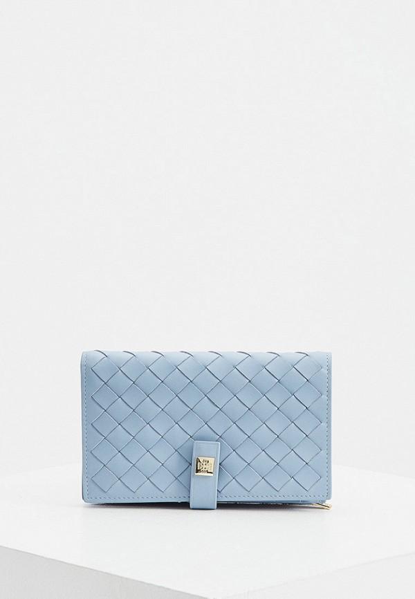 женский кошелёк hogl, голубой