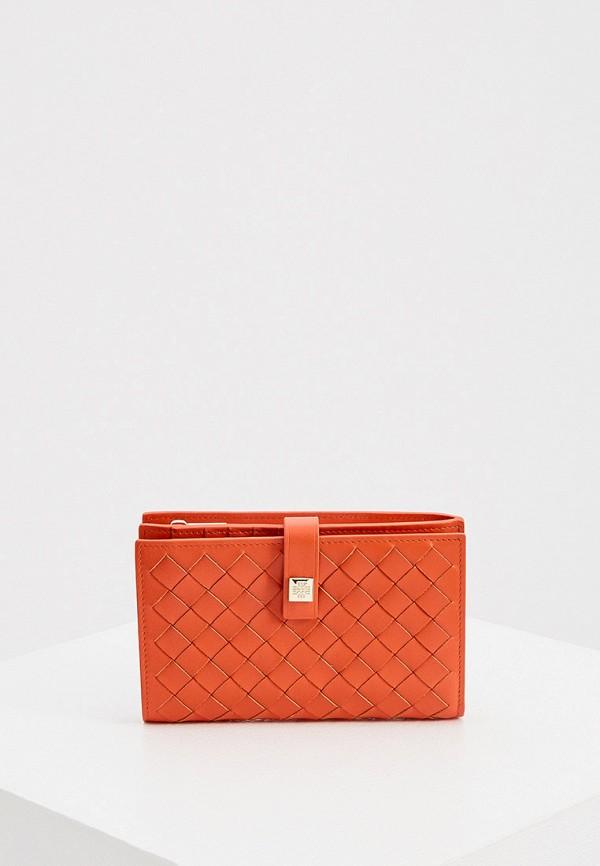 женский кошелёк hogl, оранжевый