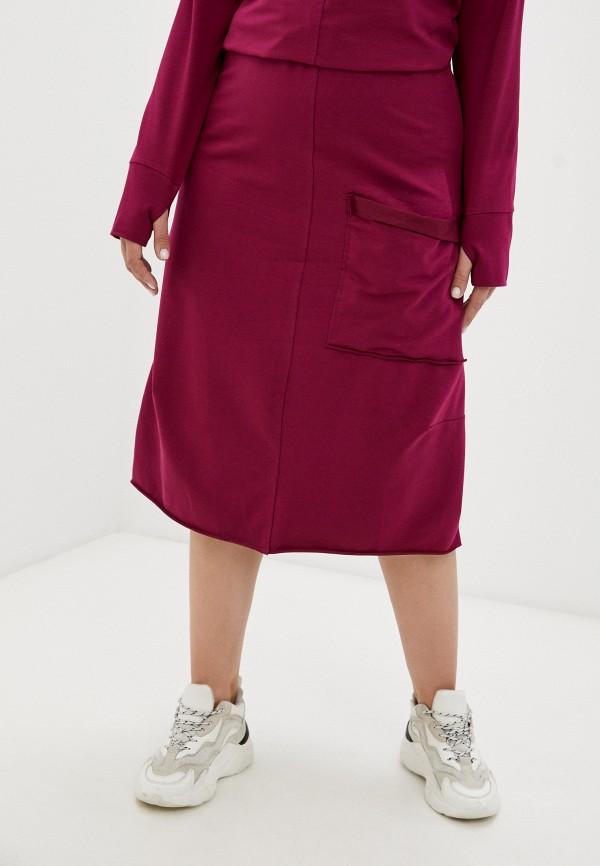 женская прямые юбка banzo, розовая