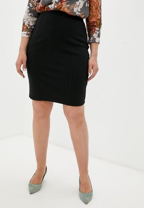 женская прямые юбка banzo, черная