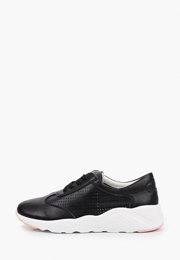 женские низкие кроссовки shoiberg, черные