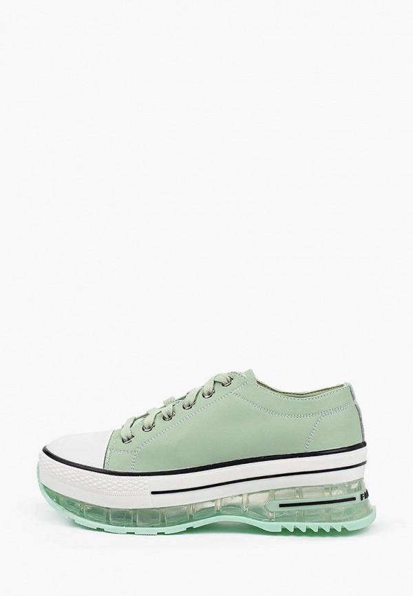 женские низкие кроссовки dino ricci, бирюзовые