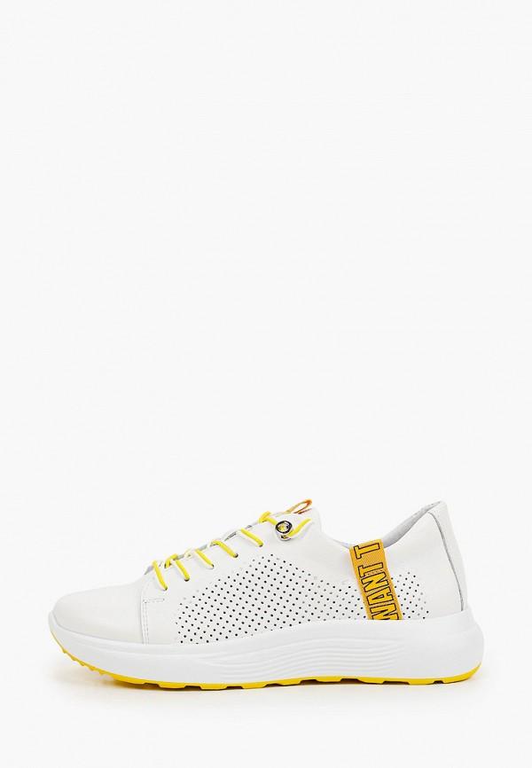 женские низкие кроссовки shoiberg, белые