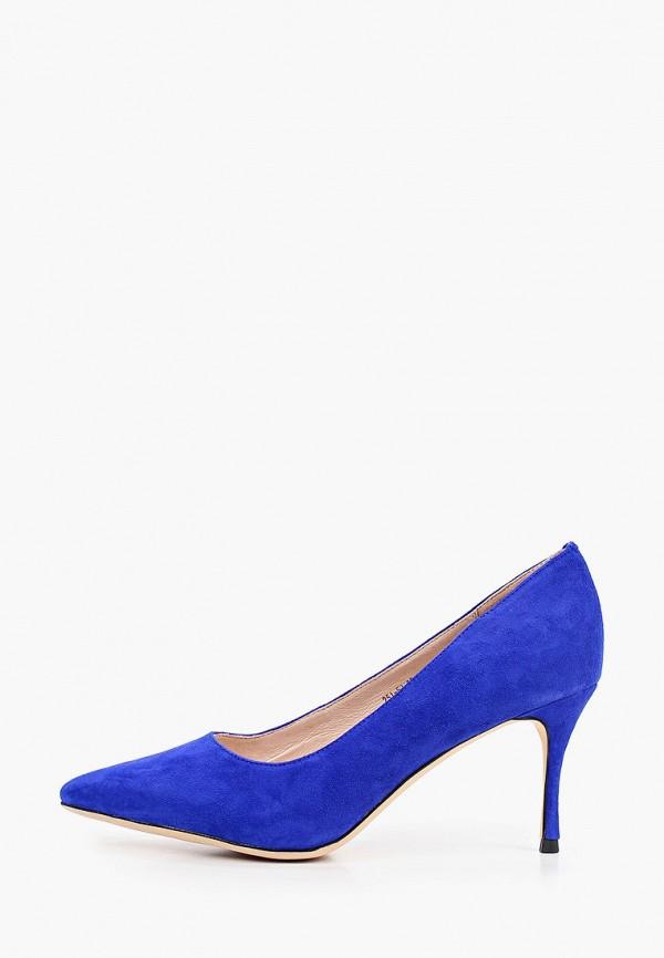 женские туфли-лодочки dino ricci, синие