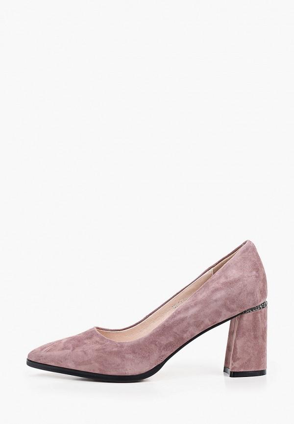 женские туфли с закрытым носом dino ricci, фиолетовые