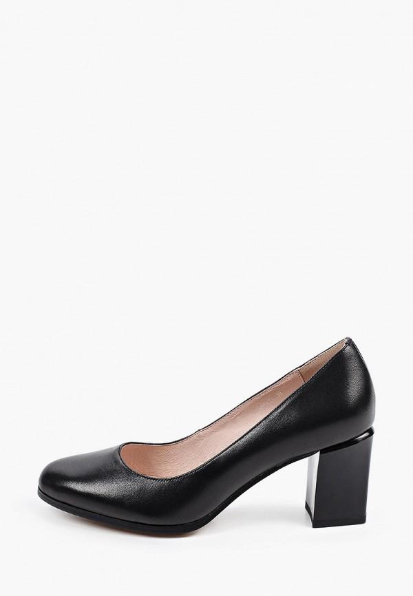 женские туфли с закрытым носом dino ricci, черные