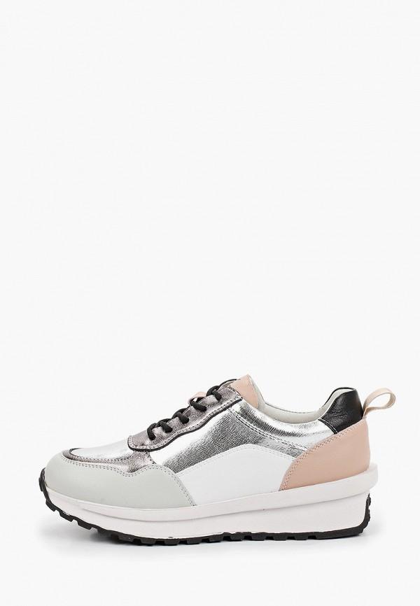 женские низкие кроссовки nexpero, серебряные