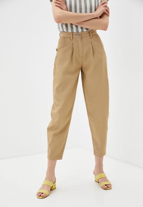 женские зауженные брюки dizzyway, бежевые