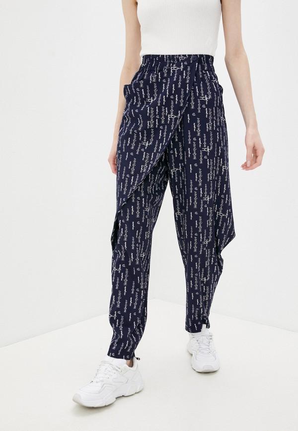 женские повседневные брюки dizzyway, синие
