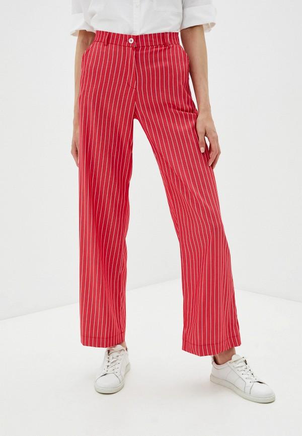 женские повседневные брюки dizzyway, красные