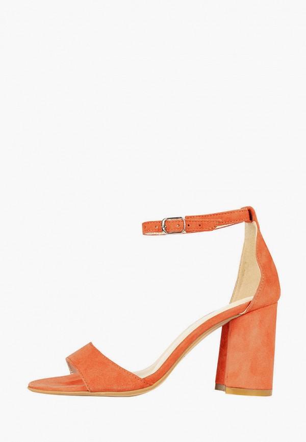 женские босоножки madiro, оранжевые