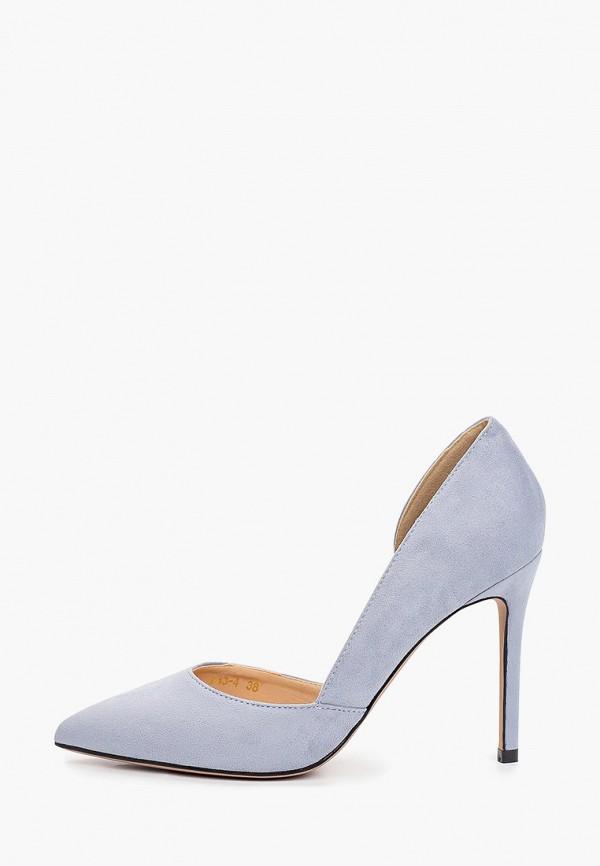 женские туфли араз, голубые