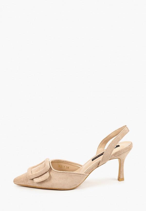 женские туфли араз, бежевые