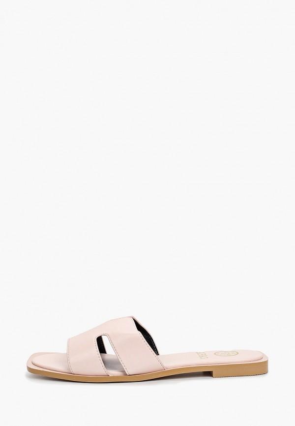 женское сабо араз, розовое