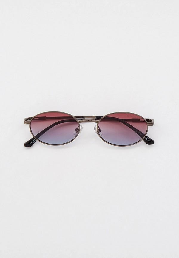 женские круглые солнцезащитные очки rita bradley, серые