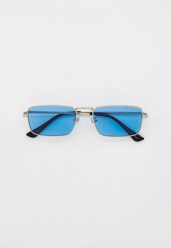 женские квадратные солнцезащитные очки rita bradley, золотые