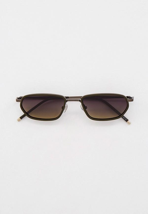 женские солнцезащитные очки kaizi, зеленые