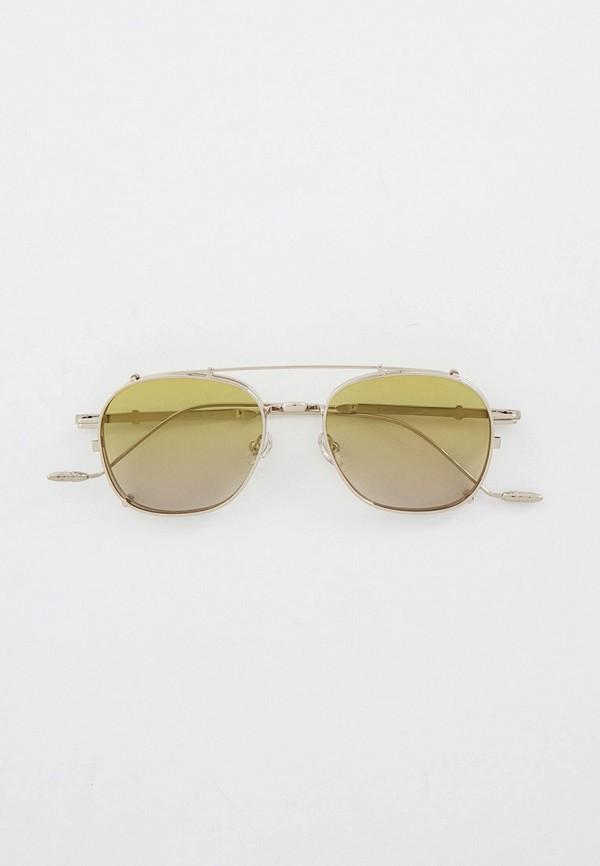 женские авиаторы солнцезащитные очки kaizi, серебряные