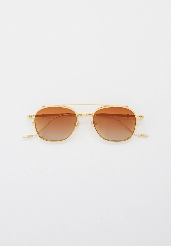 женские авиаторы солнцезащитные очки kaizi, золотые