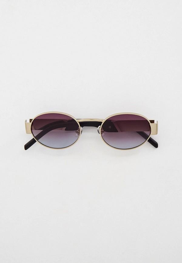 женские круглые солнцезащитные очки kaizi, серые
