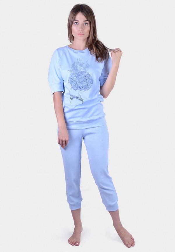 женский костюм n.el, голубой