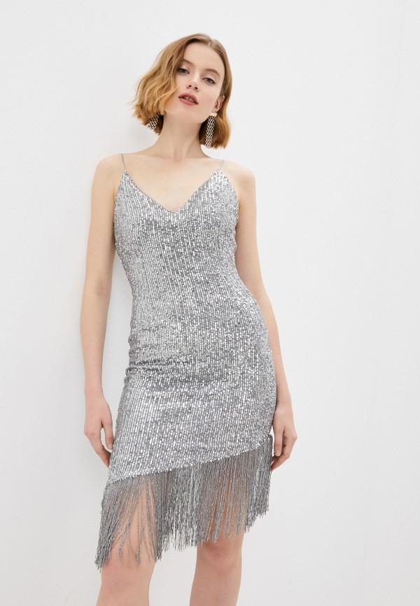 Платье Joymiss серебрянного цвета