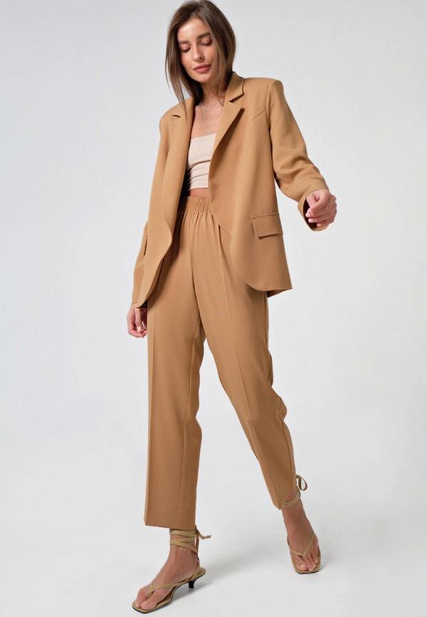 женский костюм fly, коричневый