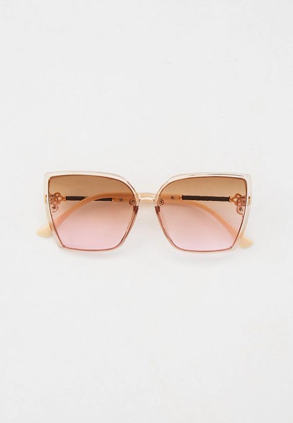 женские квадратные солнцезащитные очки marco bonne', бежевые