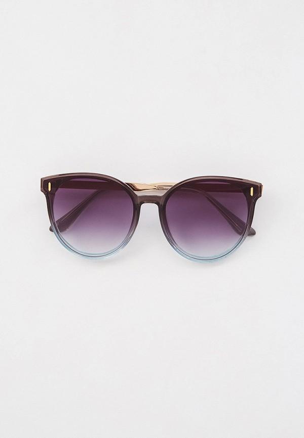 женские круглые солнцезащитные очки marco bonne', серые