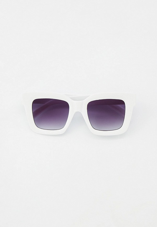 женские квадратные солнцезащитные очки marco bonne', белые