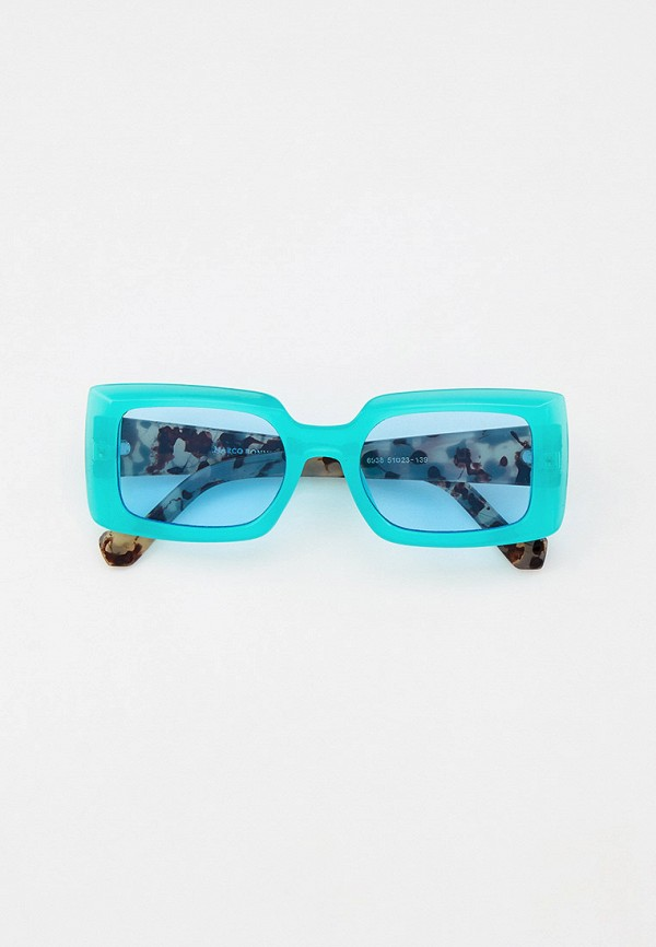 женские квадратные солнцезащитные очки marco bonne', зеленые