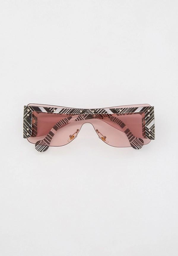 женские квадратные солнцезащитные очки marco bonne', серые