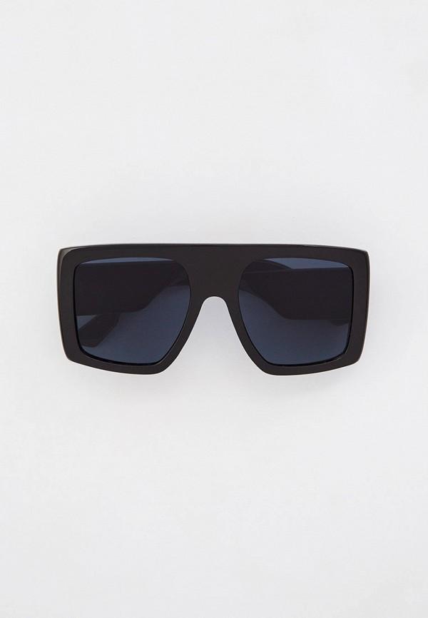 женские квадратные солнцезащитные очки marco bonne', черные