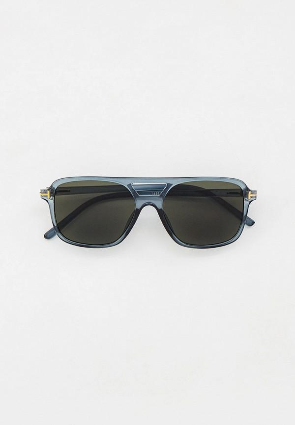 женские квадратные солнцезащитные очки marco bonne', синие